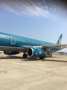 ベトナム航空(福岡〜ハノイ〜クアラルンプール)